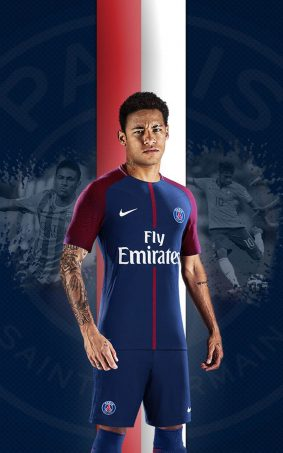 Neymar Jr In Paris Saint-Germain FC HD Mobile Wallpaper