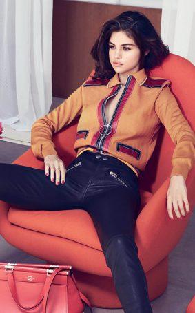 Selena Gomez Instyle Click 2017 HD Mobile Wallpaper