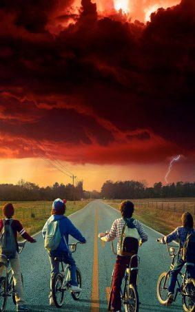 Stranger Things Season 2 Series HD Mobile Wallpaper