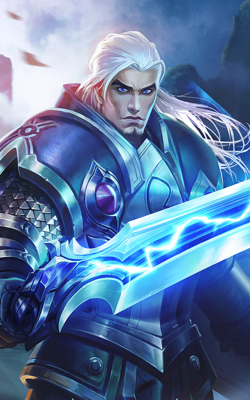 Download Tigreal Mobile Legends Hero Free Pure 4K Ultra HD Mobile Wallpaper