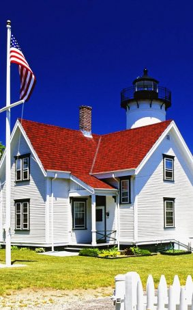 West Chop Lighthouse HD Mobile Wallpaper