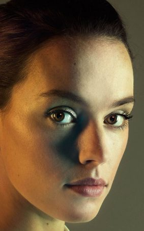Daisy Ridley Portrait Click HD Mobile Wallpaper