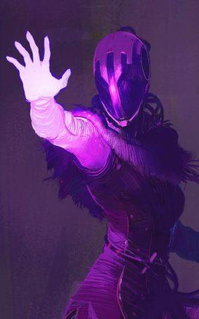 Destiny 2 Voidwalker HD Mobile Wallpaper