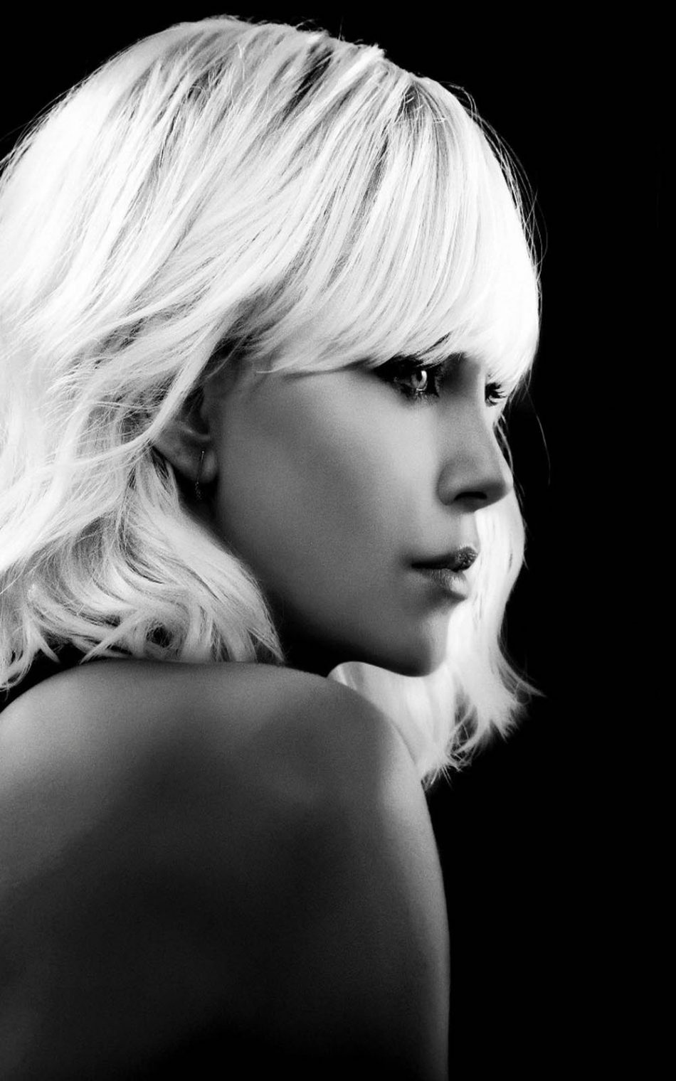 Charlize Theron In Atomic Blonde HD Mobile Wallpaper