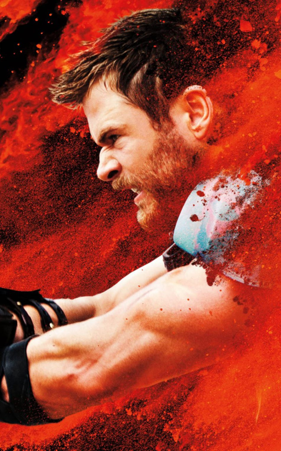 Chris Hemsworth In Thor Ragnarok Movie HD Mobile Wallpaper