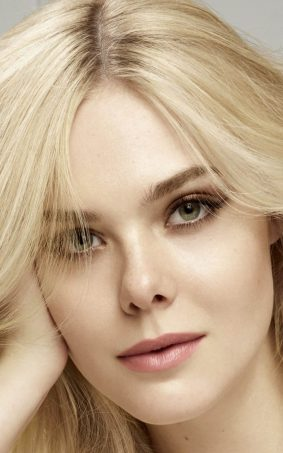 Elle Fanning Loreal Paris Photoshoot HD Mobile Wallpaper