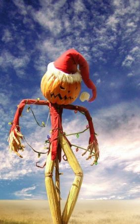 Halloween Holiday Scarecrow HD Mobile Wallpaper