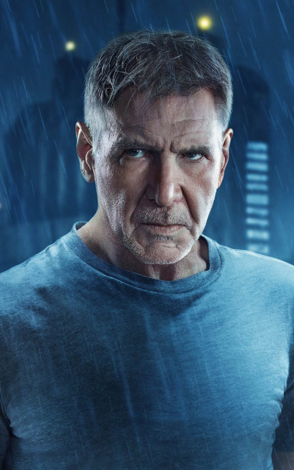 Harrison Ford In Blade Runner 2049 HD Mobile Wallpaper
