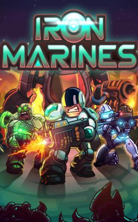 Iron Marines Game HD Mobile Wallpaper