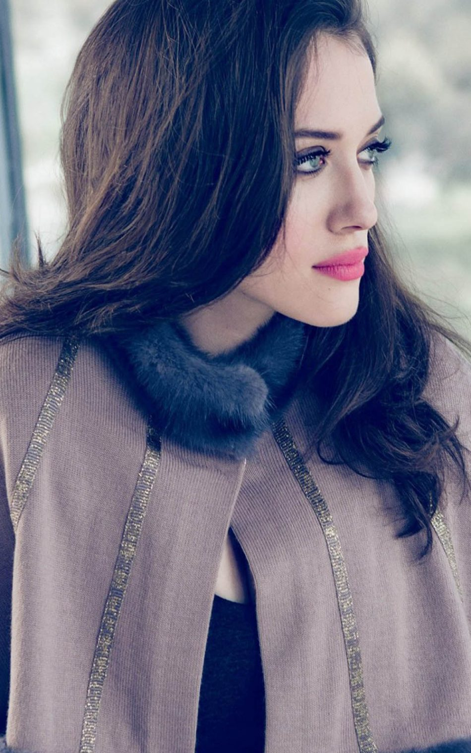 Kat Dennings 2017 Photoshoot HD Mobile Wallpaper