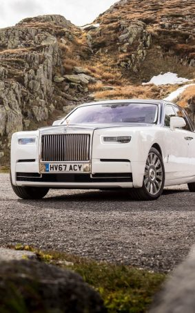 Rolls Royce Phantom White HD Mobile Wallpaper
