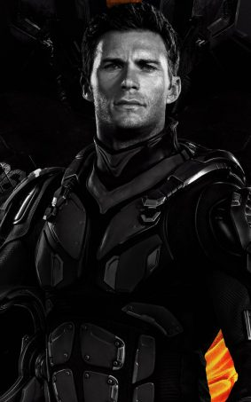 Scott Eastwood In Pacific Rrim Uprising HD Mobile Wallpaper