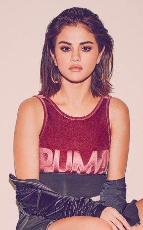 Selena Gomez 2017 Puma Photoshoot HD Mobile Wallpaper