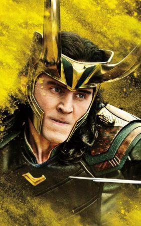 Tom Hiddleston In Thor Ragnarok Movie HD Mobile Wallpaper