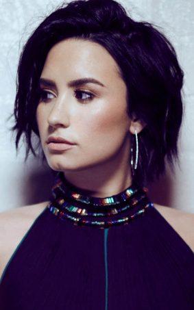 Demi Lovato 2017 New Photoshoot HD Mobile Wallpaper