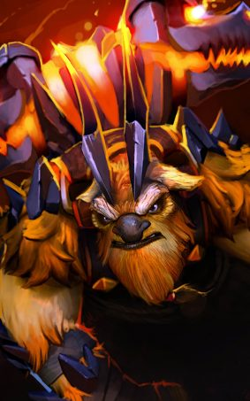 Earthshaker Dota 2 HD Mobile Wallpaper