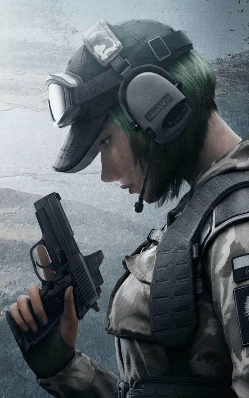 Ela Tom Clancys Rainbow Six Siege HD Mobile Wallpaper