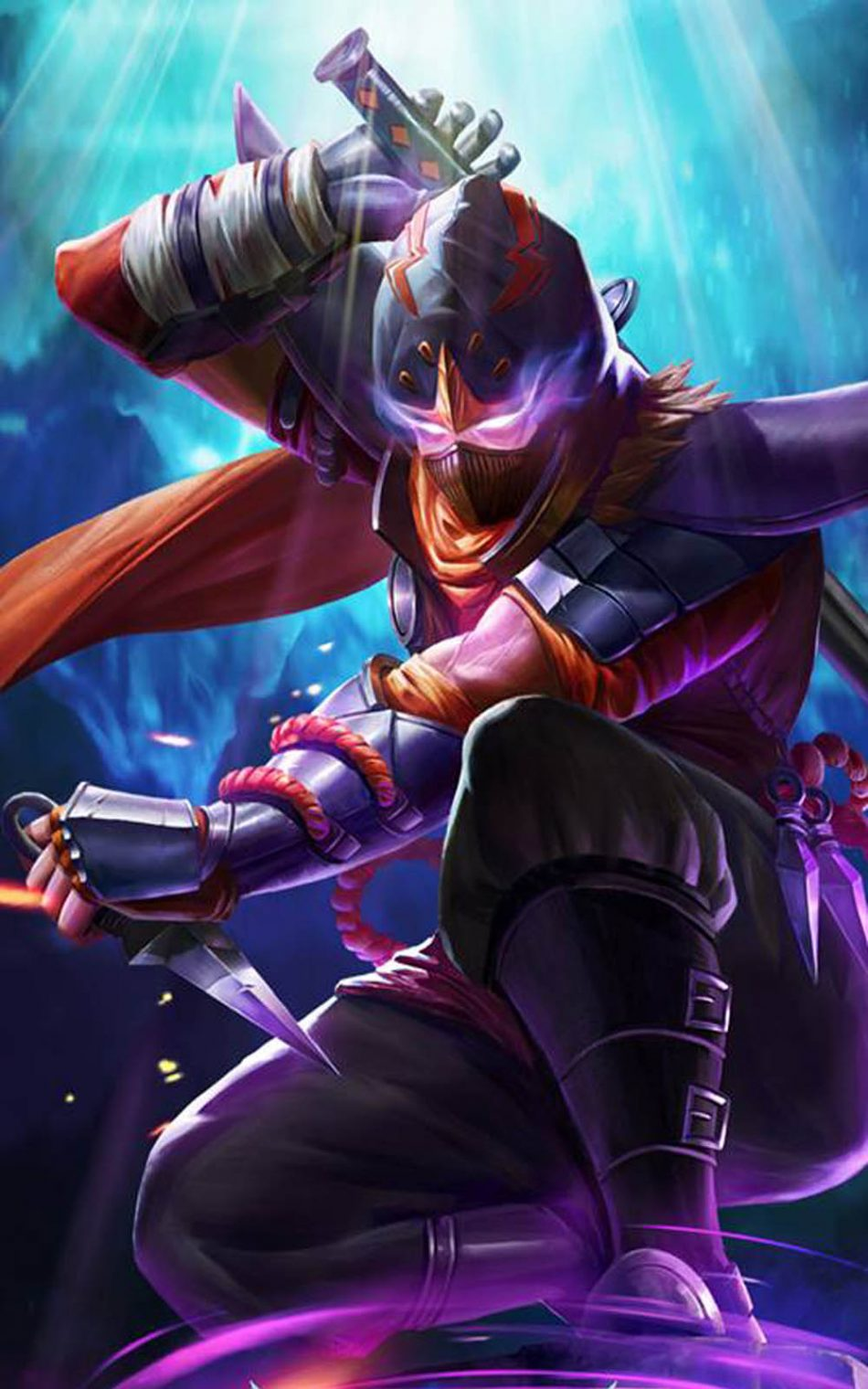 Hayabusa Shadow of Iga Mobile Legends HD Mobile Wallpaper