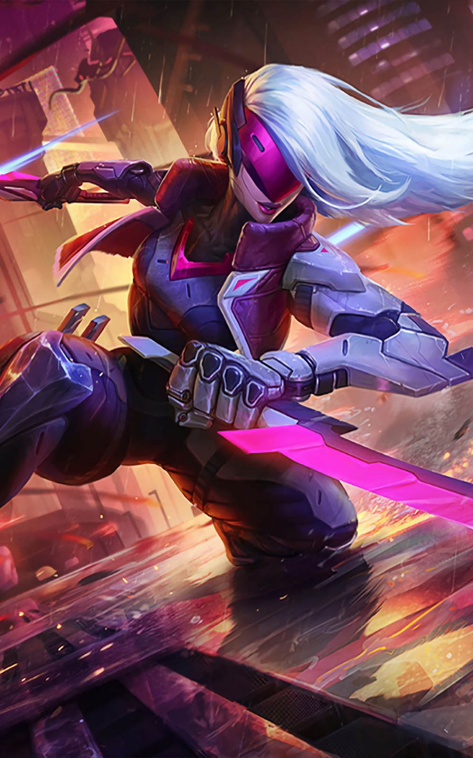 Download Katarina League of Legends Free Pure 4K Ultra HD Mobile Wallpaper