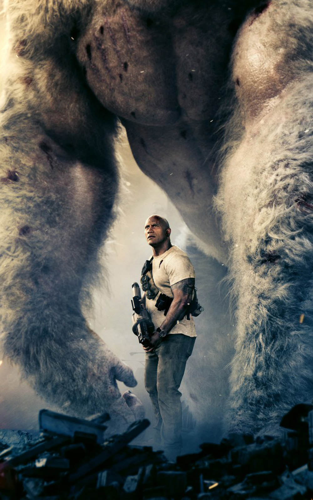 rampage 2018 movie hd mobile wallpaper - download free 100% pure hd