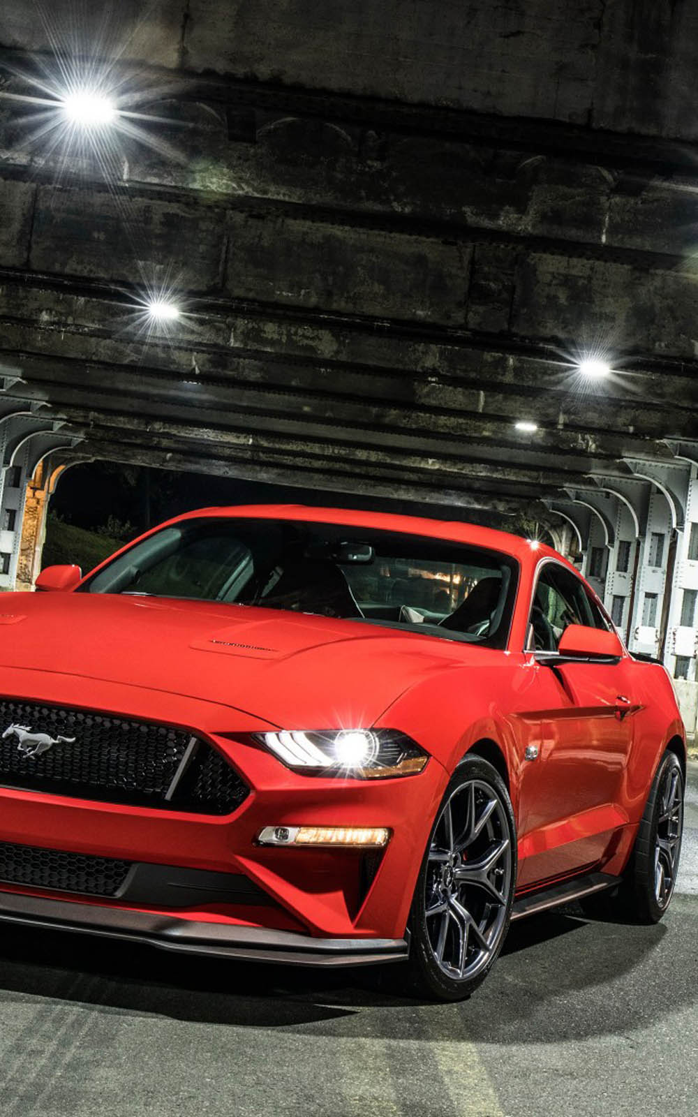 Download Red Ford Mustang Gt Performance Pack Level 2 Free Pure 4k