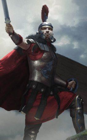 Roman Commander Germanicus In Total War Arena HD Mobile Wallpaper