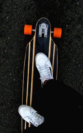Skateboard Sneakers HD Mobile Wallpaper