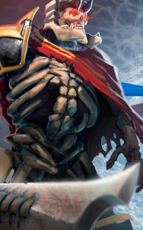 Skeleton King Dota 2 HD Mobile Wallpaper