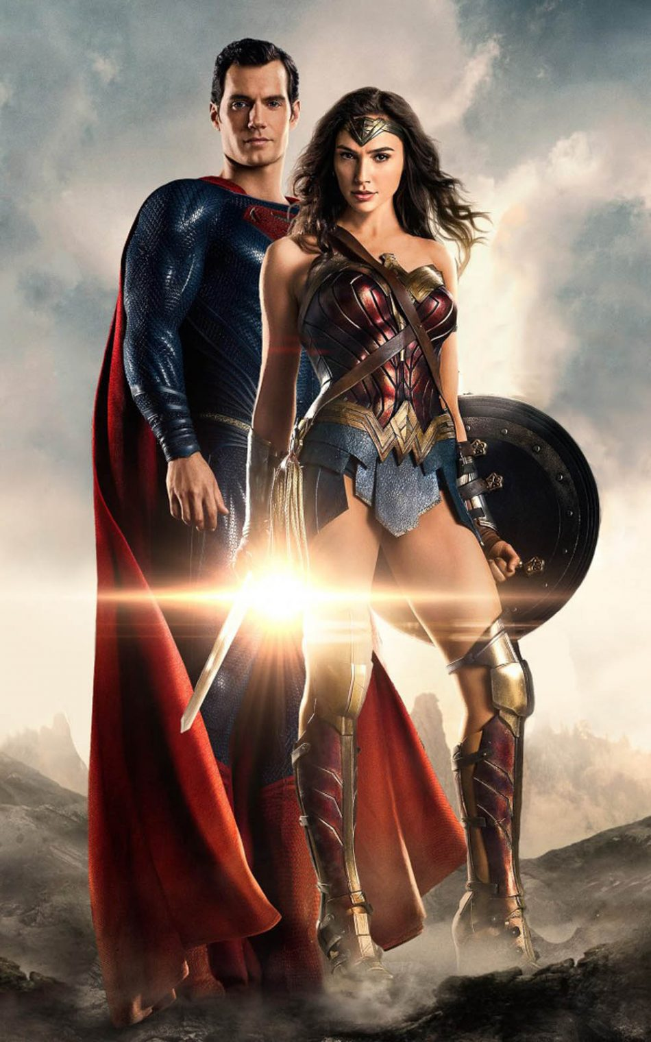 Download Superman And Wonder Woman In Justice League Free Pure 4k