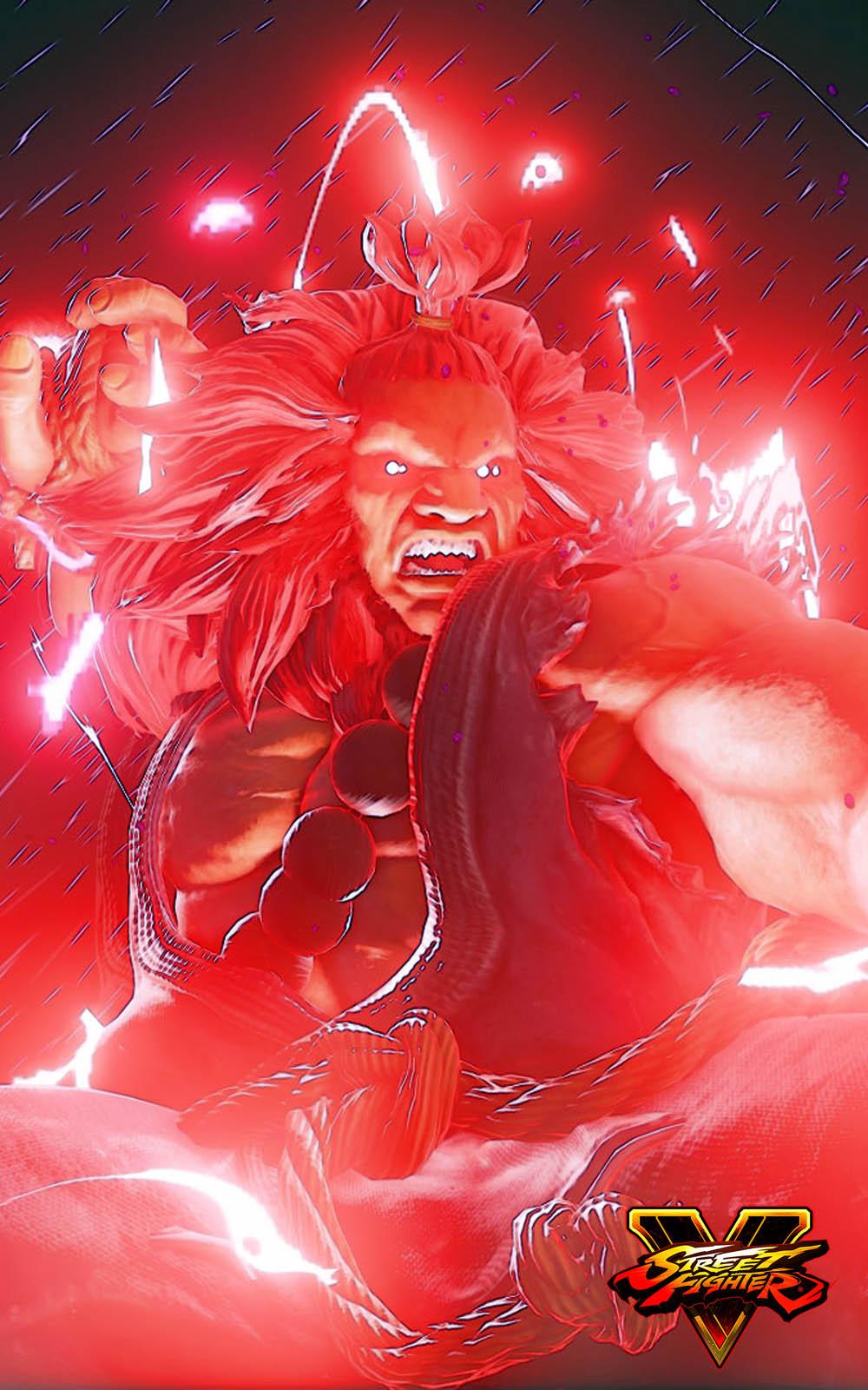 Akuma Street Fighter 5 Hero HD Mobile Wallpaper - Download ...