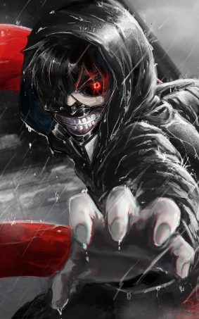 Angry Tokyo Ghoul HD Mobile Wallpaper