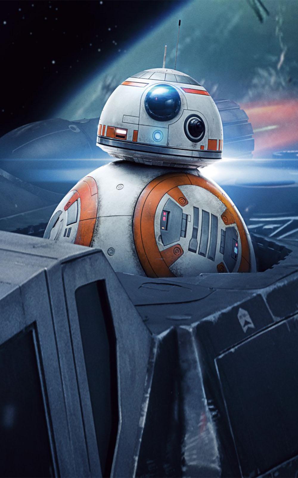 BB 8 In Star Wars The Last Jedi Free 4K Ultra HD Mobile ...