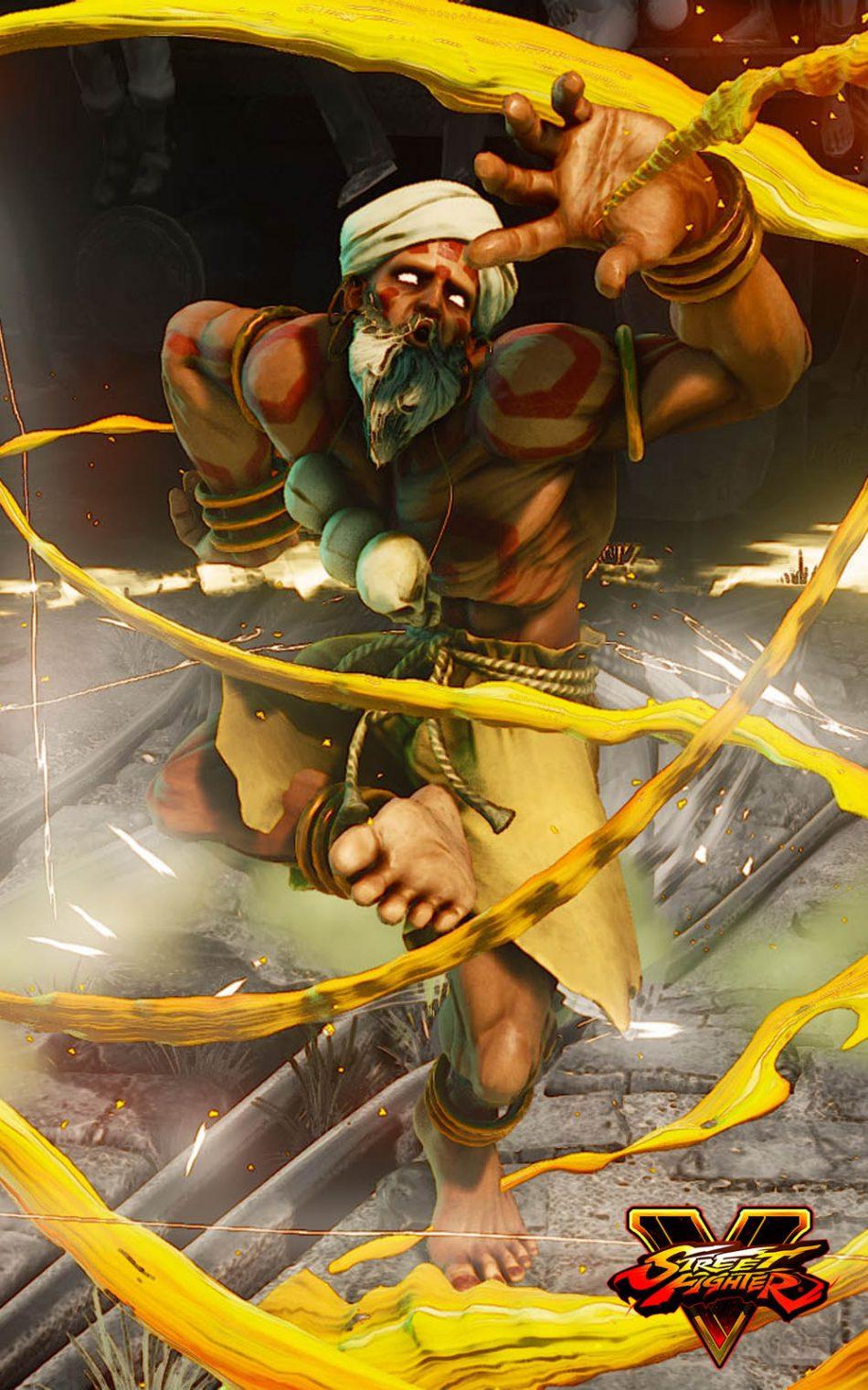 Dhalsim Street Fighter 5 Hero Free 4k Ultra Hd Mobile Wallpaper