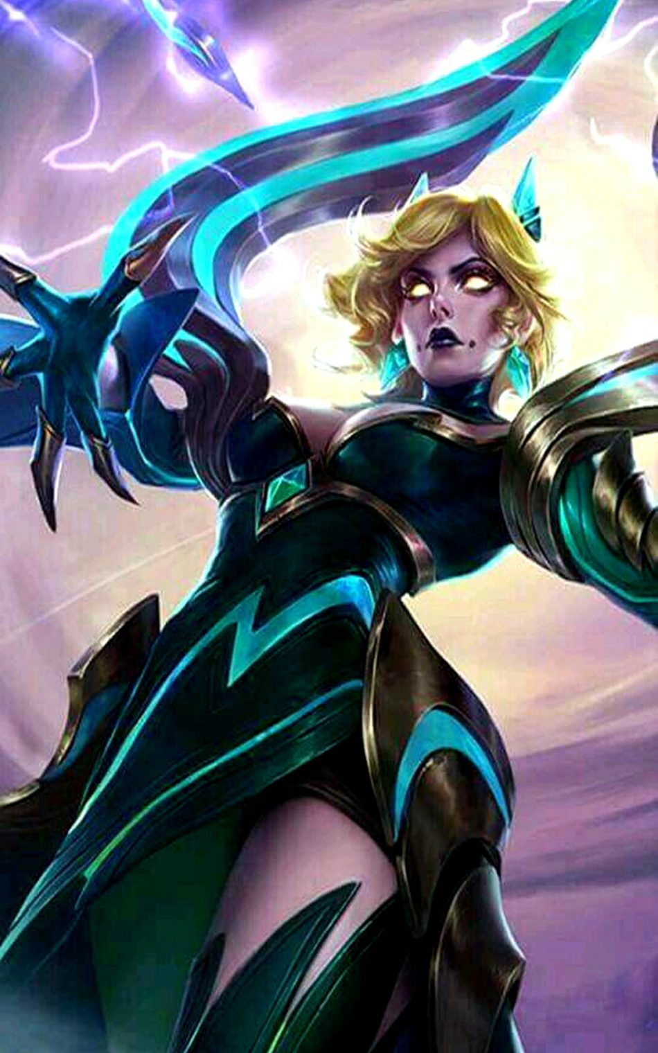 Download Emerald Enchantress Eudora Mobile Legends Free Pure