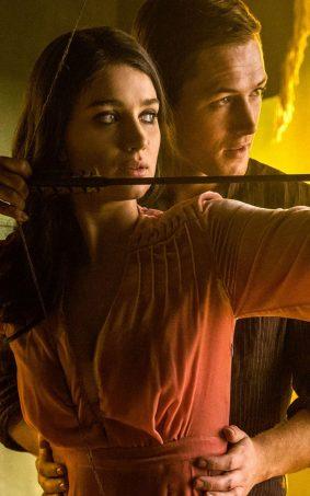 Eve Hewson & Taron Egerton In Robin Hood 2018 HD Mobile Wallpaper