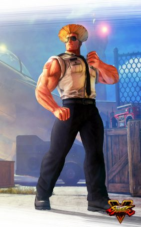 Guile Street Fighter 5 Hero HD Mobile Wallpaper