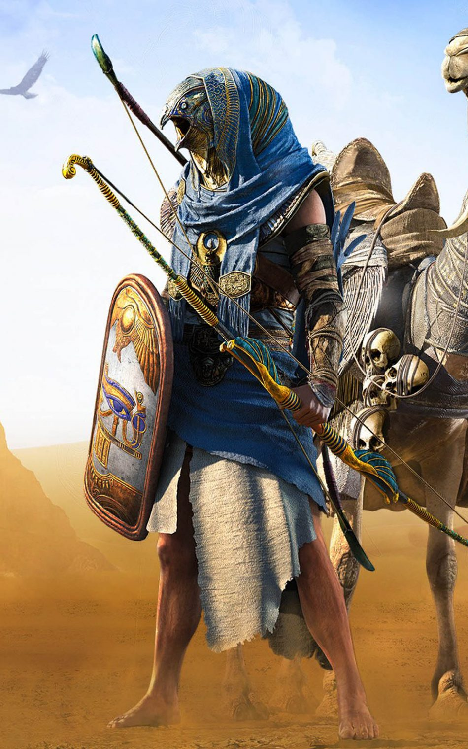 Download Horus In Assassins Creed Origins Free Pure 4k Ultra