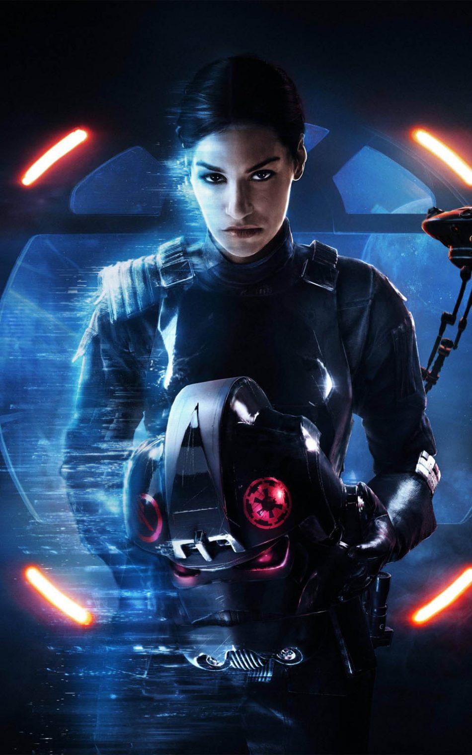 Janina Gavankar In Star Wars Battlefront 2 4k Ultra Hd Mobile Wallpaper
