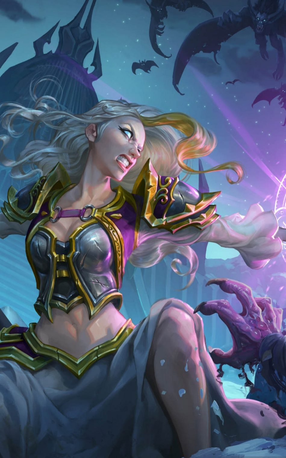 Knights Of The Frozen Throne Hearthstone Game Free 4k Ultra Hd