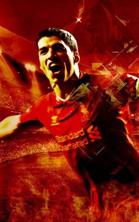 Luis Suarez HD Mobile Wallpaper