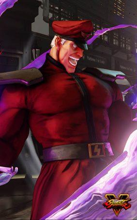 M. Bison Street Fighter 5 Hero HD Mobile Wallpaper
