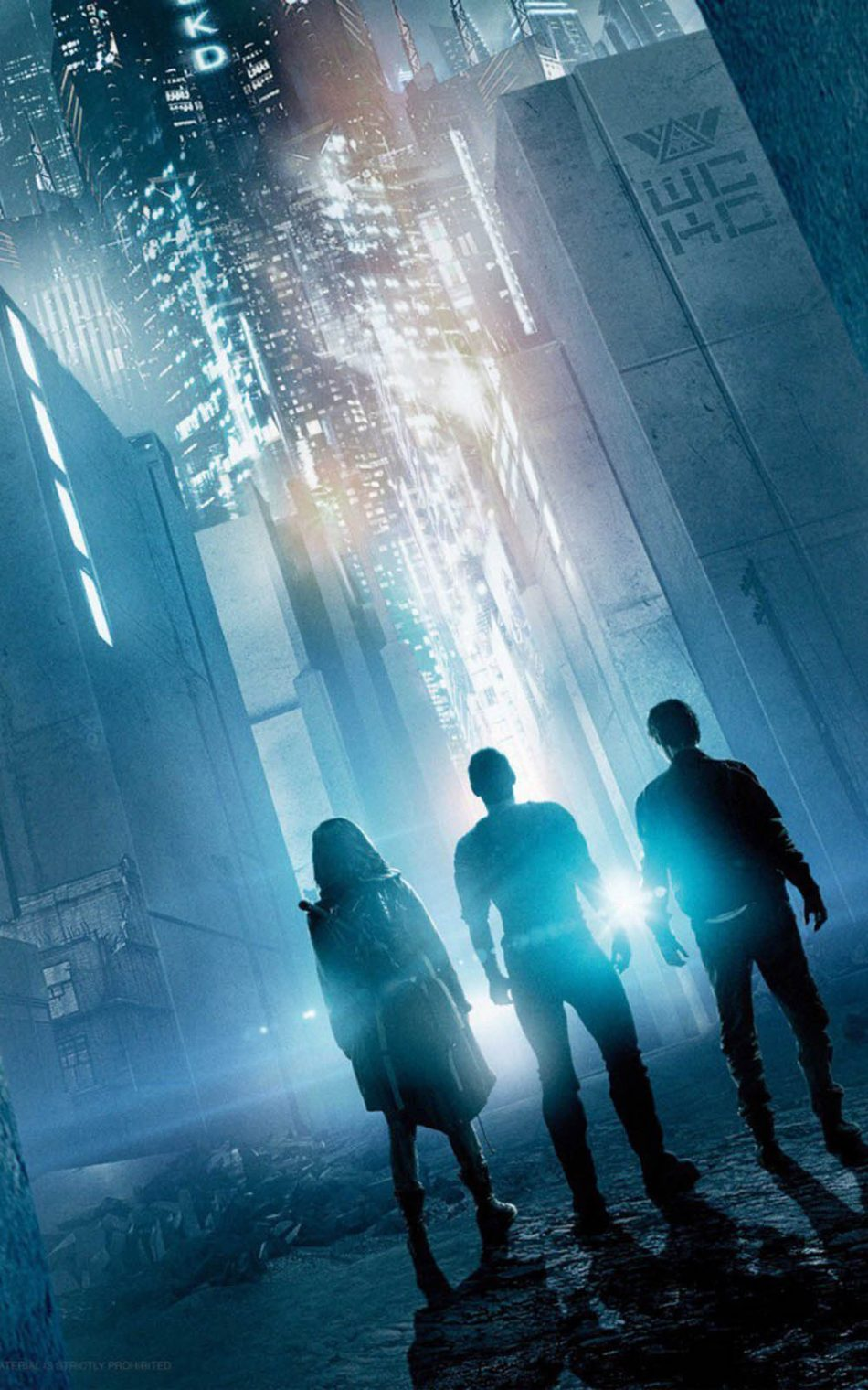 Maze Runner - The Death Cure HD Mobile Wallpaper