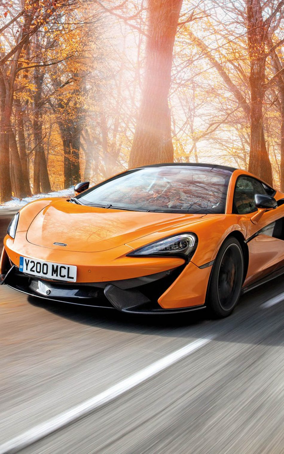 Mclaren 570S Pirelli MC Sottozero 3 HD Mobile Wallpaper