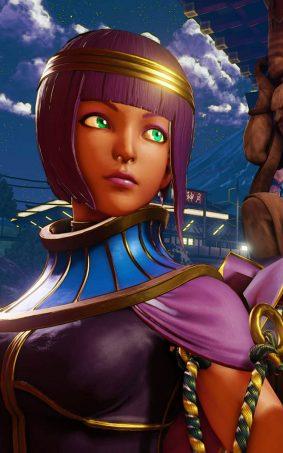 Menat Street Fighter 5 Hero HD Mobile Wallpaper