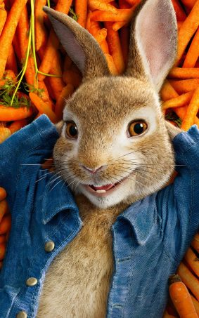 Peter Rabbit 2018 HD Mobile Wallpaper