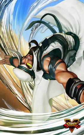 Rashid Street Fighter 5 Hero HD Mobile Wallpaper