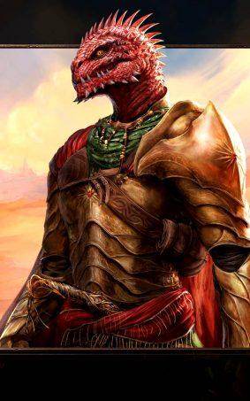 Red Prince Divinity - Original Sin II Hero HD Mobile Wallpaper