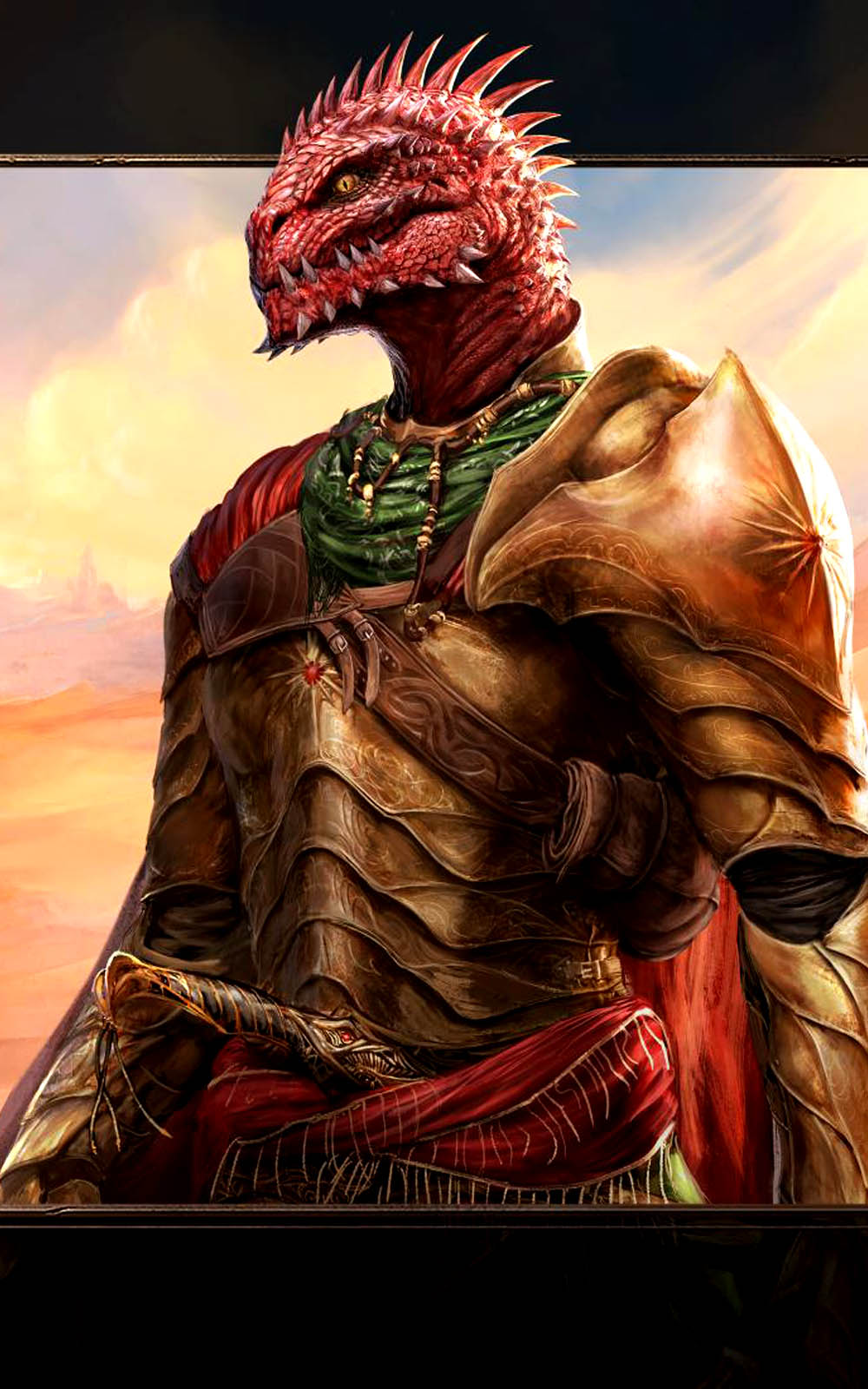 Download Red Prince Divinity - Original Sin II Hero Free