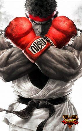 Ryu Street Fighter 5 Hero HD Mobile Wallpaper