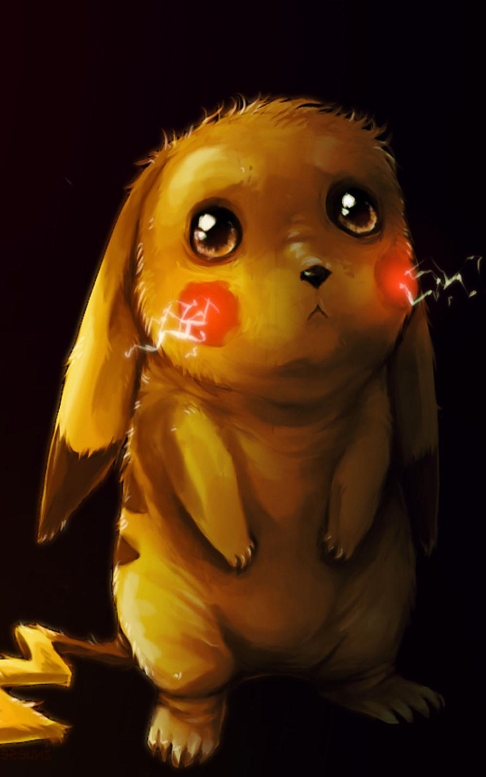 Sad Pikachu Free 4K Ultra HD Mobile Wallpaper